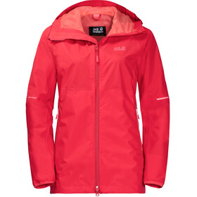 Jack Wolfskin Sierra Pass Jacket Women tulip red